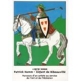 Carte postale - Patrick HAMM – enfant de Ribeauvillé - 2002