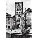 Carte postale - Place du marché et Tour des Bouchers