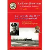 Le crash du B17 au Langenthal – A la recherche du bombardier perdu - Revue n° 17 - 2009