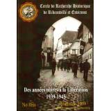 Des années noires à la libération – 1939/1945 - Revue n° 8 bis – 2009