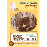 Généalogie n° 2 - Histoire des familles Wymann - 2010