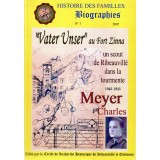 Biographie n° 1 - Souvenirs de Charles MEYER - 2007