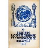 SHAR - Bulletin n° XI  – 1948