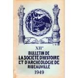 SHAR - Bulletin n° XII  – 1949