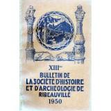 SHAR - Bulletin n° XIII  – 1950