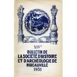 SHAR - Bulletin n° XIV  – 1951