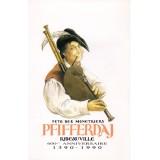 Carte postale - 600e anniversaire du Pfifferdaj - 1990
