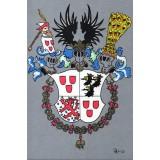 Carte postale - Armoiries des seigneurs de Ribeaupierre - 1986