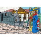 Carte postale - Tramway de Ribeauvillé - 1988