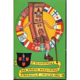 Carte postale - 3e olympiade des sports populaires - 1993 - B