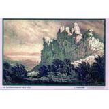 Carte postale - Vue du Schlüsselstein en 1850 - 2008/2009