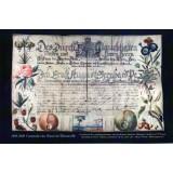 Carte postale - Certificat de compagnonnage de maître jardinier - 2009 / 2010