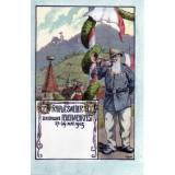 Carte postale - Rappoltsweiller Dreifaches Feuerwehrfest - 1905