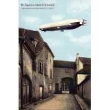 Carte postale - Passage d'un Zeppelin au dessus de Ribeauvillé - 2011