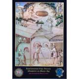 Carte postale - Représentation d'une verrerie au Moyen-Age - 2013
